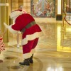 "Santa Giving A High Five To A Young Girl For Making His ""Nice"" List"