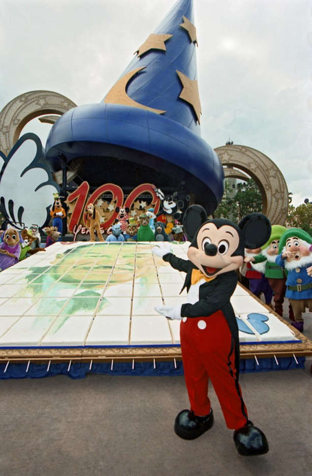 Vintage Walt Disney World: One Big Birthday Cake for Walt