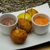 Salted Cod Croquettes at Spice Road Table