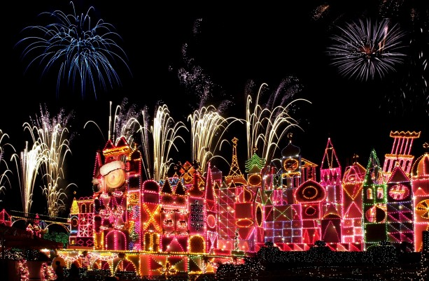 'it's a small world' Fireworks at Disneyland Park