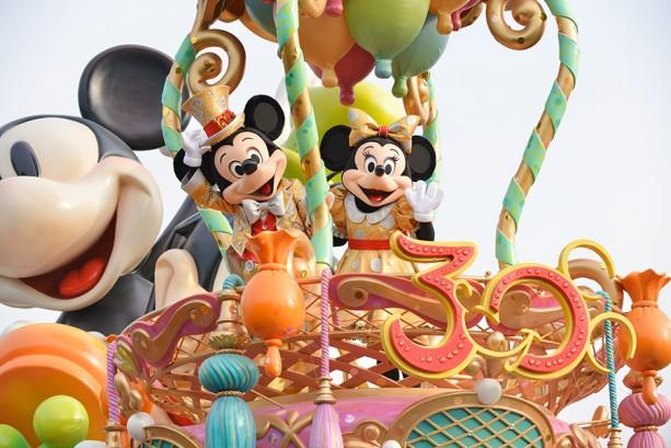 Tokyo Disneyland 30th Anniversary Parade