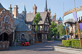 New Fantasyland at Disneyland Park
