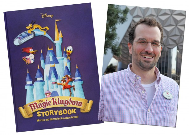 Stories from Magic Kingdom Park Featured in New Children's Book by Walt Disney Imagineer Jason Grandt