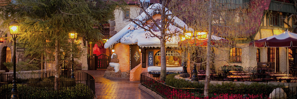 Winter at Disneyland Resort