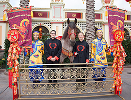 Happy Lunar New Year Celebration Marks the Year of the Horse at Disney California Adventure Park this Weekend