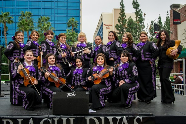 Mariachi Divas Celebrate With a Pre-GRAMMY Performance in the Downtown Disney District at the Disneyland Resort