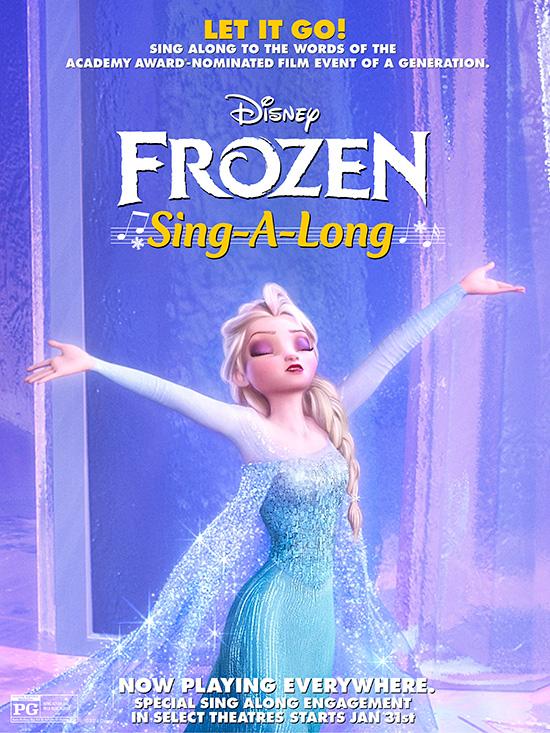 'Frozen - A Sing Along'