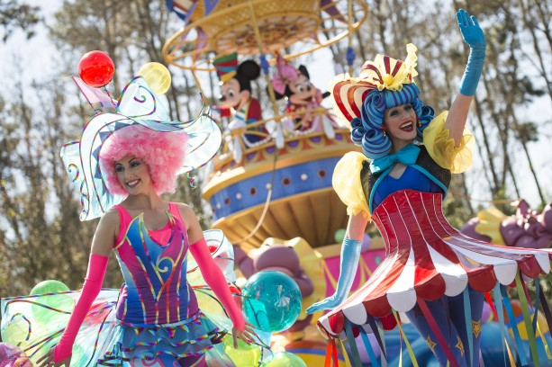 'Disney Festival of Fantasy Parade' Debuts March 9 at Magic Kingdom Park