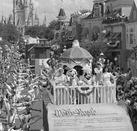 Step In Time: 'We the People' All America Parade at Magic Kingdom Park