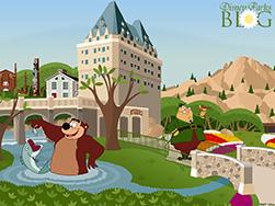Disney Parks Blog Canada Pavilion at Epcot Desktop Wallpaper