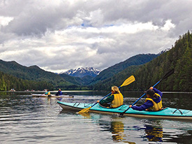Wilderness Sea Kayaking Adventure With Disney Cruise Line in Alaska