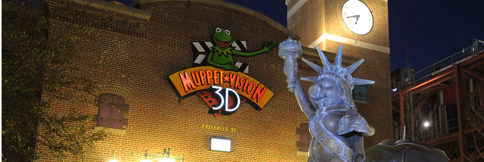 Muppet*Vision 3D at Disney Hollywood Stuidos