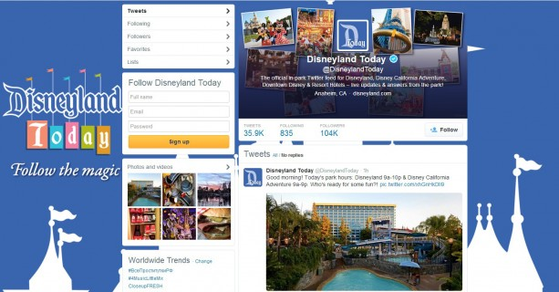 Popular In-Park Social Media Program Expands to Cover Entire Disneyland Resort