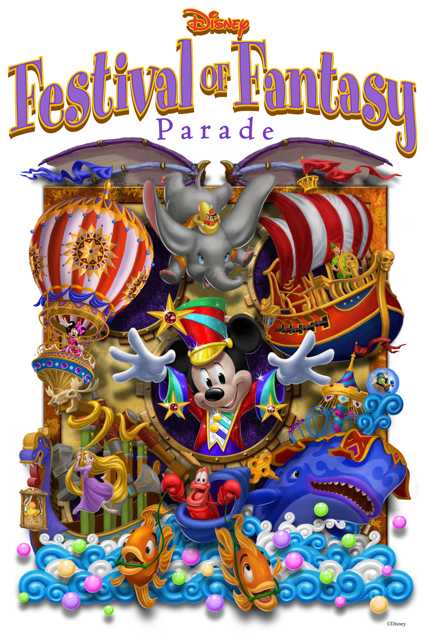 Disney Festival of Fantasy Parade Steps Off Sunday at Magic Kingdom Park