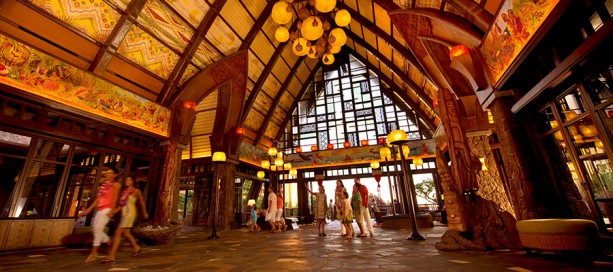 Makaʻala Grand Lobby at Aulani, a Disney Resort & Spa