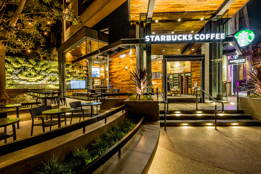 Starbucks Opens At Downtown Disney District At Disneyland