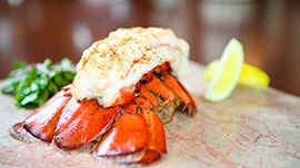 Lobster Tail at Steakhouse 55 in Disneyland Hotel
