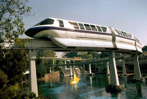 Disneyland Monorail - Submarine Voyage