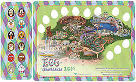 Disney California Adventure Park Egg-Stravaganza Egg Hunt