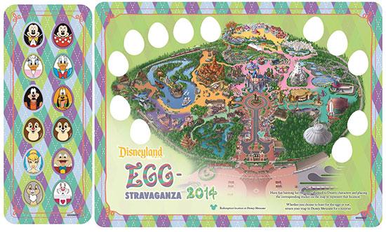 Disneyland Park Egg-Stravaganza Egg Hunt