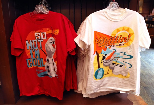 Finding 'Frozen' Merchandise at Disney Parks