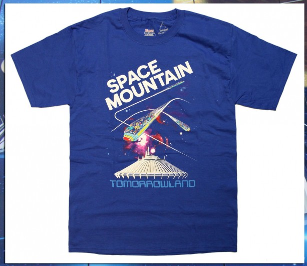 Space Mountain Shirts Cleared for Launch on Disney Parks Online Store March 10-16, 2014