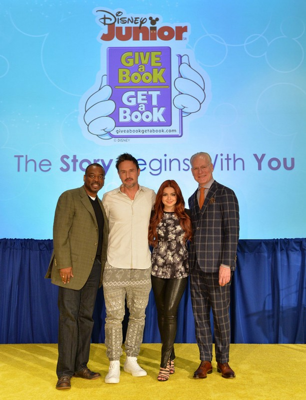 Celebrities Help Announce Disney Junior's Give a Book, Get a Book and a Donation of up to 1 Million Books