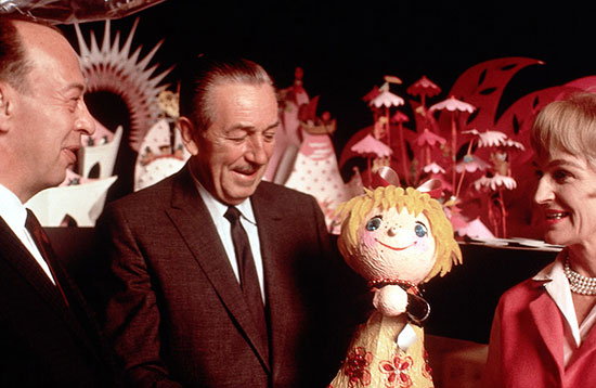 Rare Photos: Walt Disney and the Debut of 'it's a small world