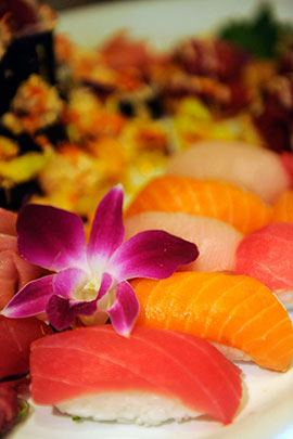 Sushi Takes Center Stage at Kona Cafe at Disney's Polynesian Resort
