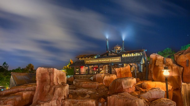 Disney Parks After Dark: Big Sky Over Big Thunder Mountain Railroad