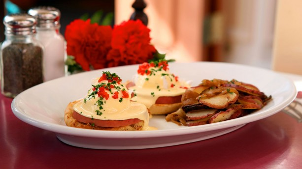 Classic Eggs Benedict Back at Carnation Café in Disneyland Park