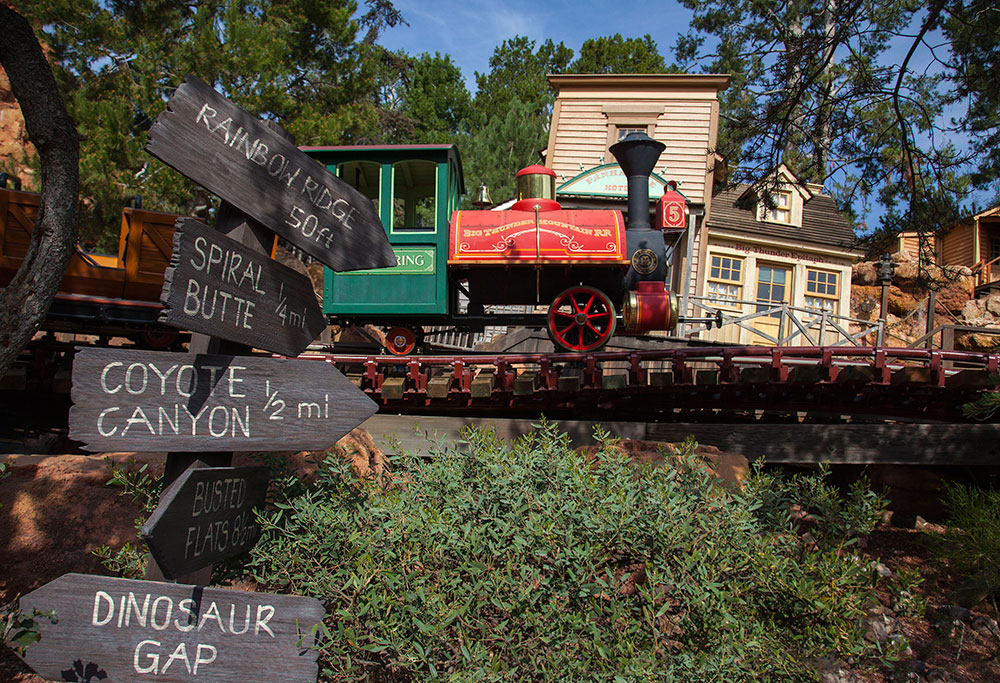 big thunder mountain railroad - photo #35