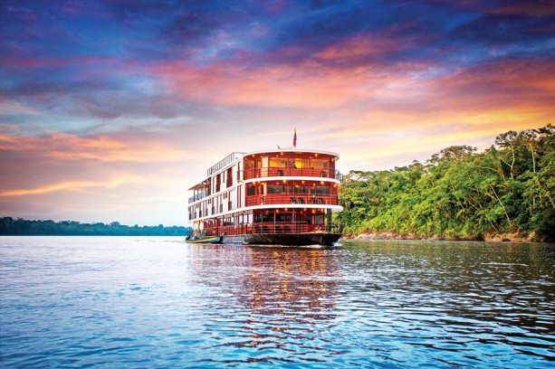 This river cruise is part of the Adventures by Disney Amazon family vacation