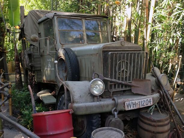 'Raiders of the Lost Ark' Patrol Truck