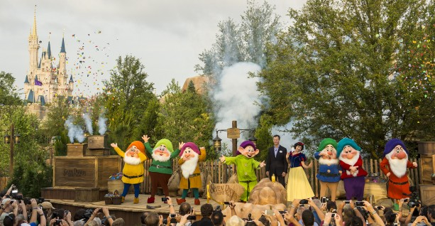SEVEN DWARFS MINE TRAIN DEDICATED AT WALT DISNEY WORLD RESORT