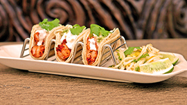 Shrimp Tacos at Tangaroa Terrace at the Disneyland Hotel