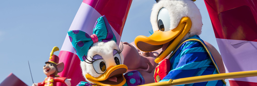 Disney 'Festival of Fantasy Parade' at Magic Kingdom Park