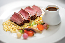 A Look at Disney Cruise Line's Taste of Alaska Menu: Elk Tenderloin
