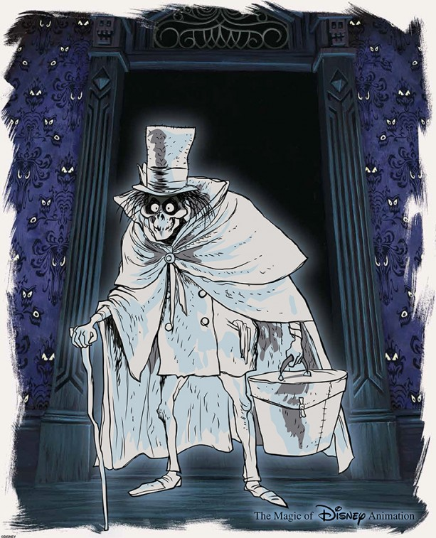 The Art Of Haunted Mansion 45th Anniversary Collectibles