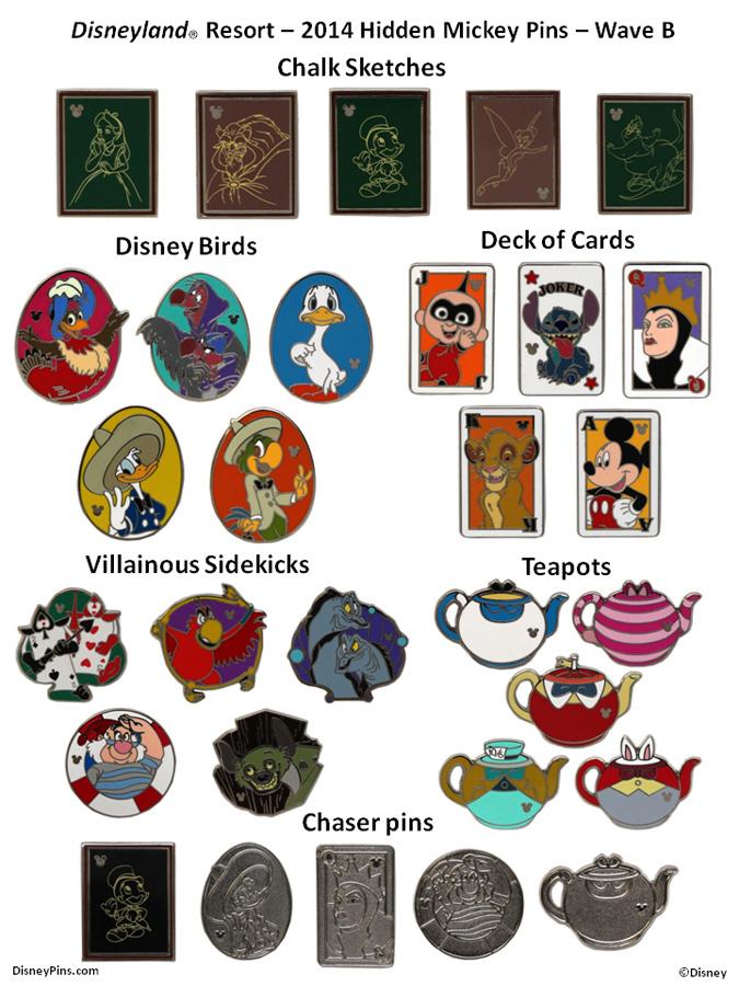 alice teapot hidden mickey pin collections
