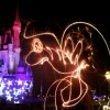 Light Painting in Magic Kingdom Park for the Fourth of July Holiday