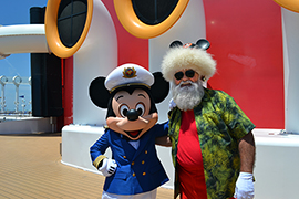 Santa's Summer Vacation with Disney Cruise Line
