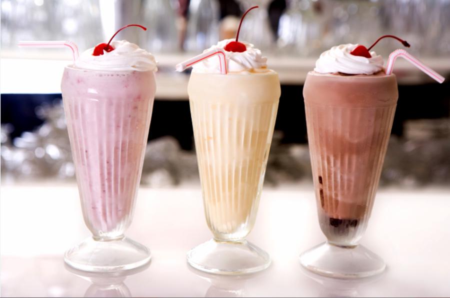 Strawberry And Vanilla Bean Ice Cream Floats Recipe — Dishmaps