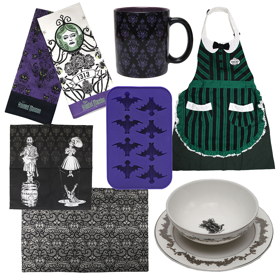 First Look At New Haunted Mansion Merchandise Appearing