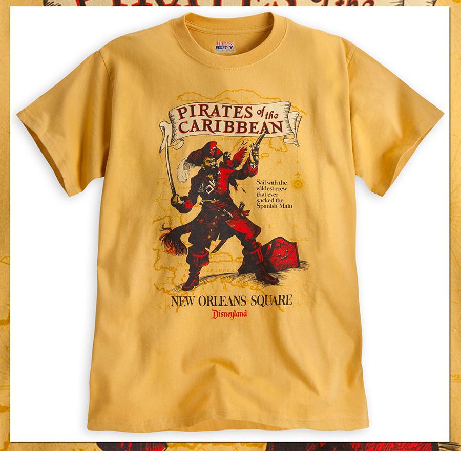 Pirates Of The Caribbean T Shirts Set Sail On Disney Parks