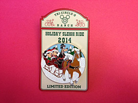 Wildlife Wednesday: It's Lovely Weather To Book A Sleigh Ride Together With You at Walt Disney World!
