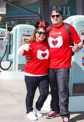 Main Street Style: Seeing Double at Disney California Adventure Park