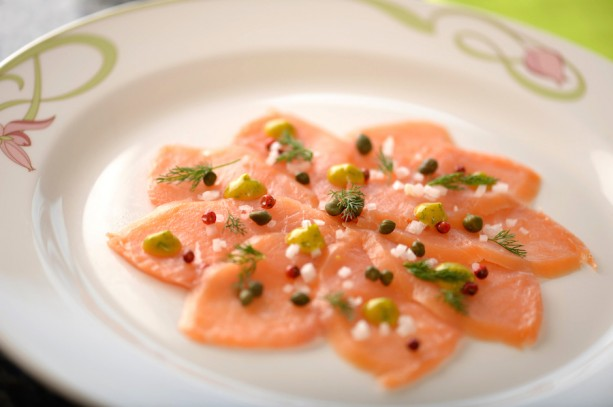 Disney Cruise Line Summer Recipe: Smoked Salmon Carpaccio