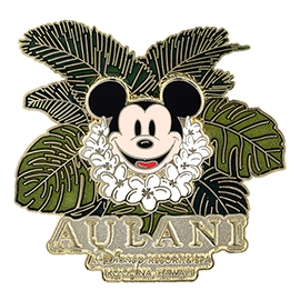 Aulani ~ Mickey Mouse Logo Pin