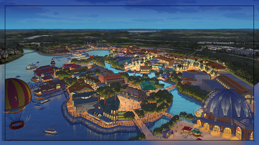 All in the Details: Imagineers Unveil the Storyline of Disney Springs